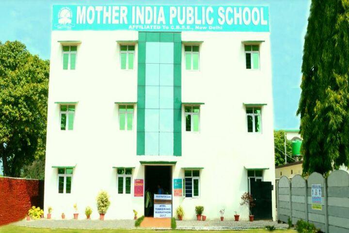 Mother India Public School-Campus