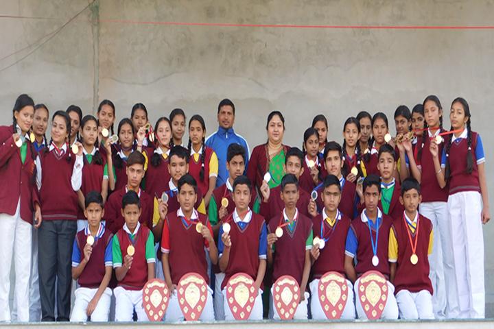Mothers Glory Public School-Achievement