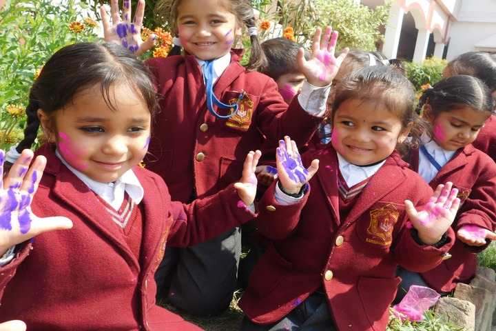 Mothers Glory Public School-Holi