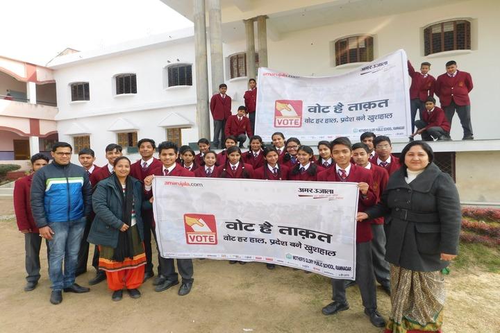 Mothers Glory Public School-Social Awarness