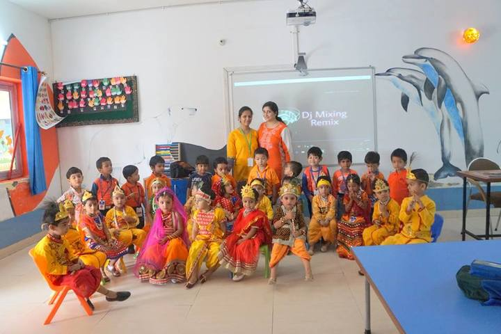 Mount Litera Zee School-Krishnastami Celebrations