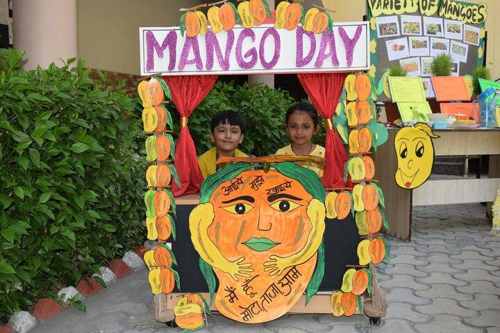 Mount Litera Zee School-Mango Day