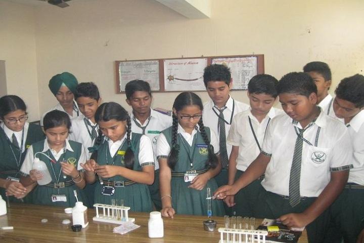 Sri Guru Gobind Public School-Chemistry lab