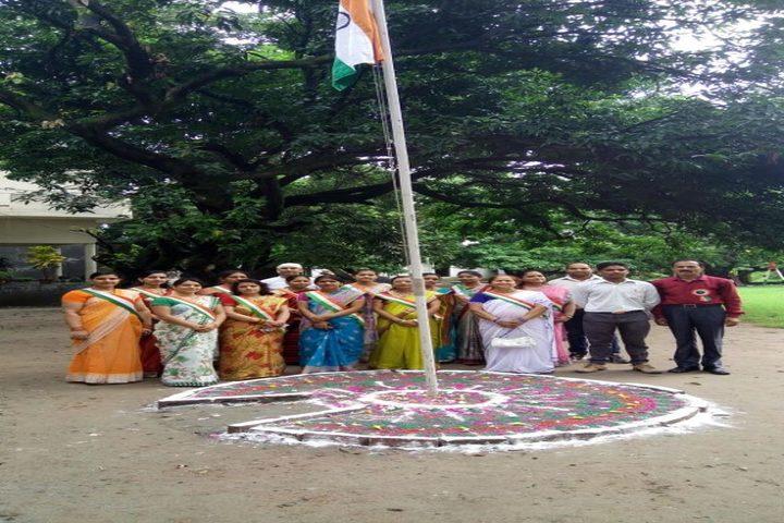 Nanda Convent School-Flag Hosting