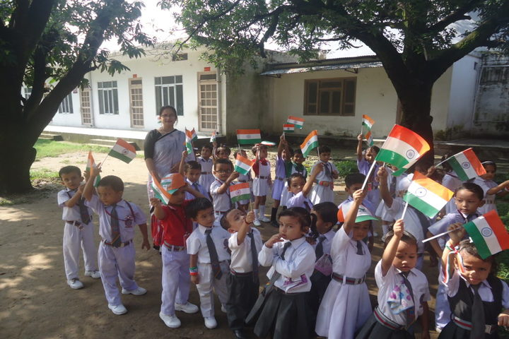 Nanda Convent School-Independence Day Celebrations