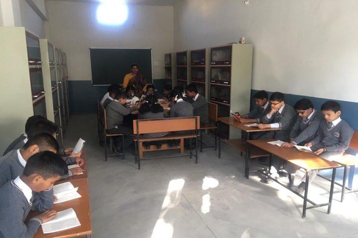 Nanda Convent School-Library