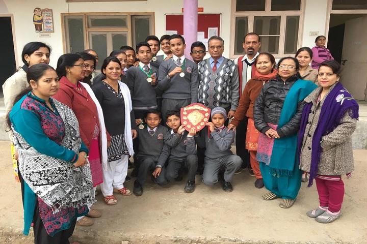 Nanda Convent School- Prize