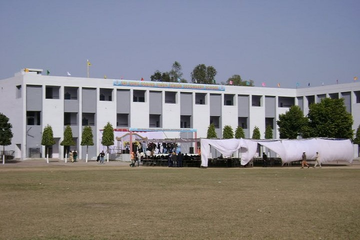 Sri Guru Gobind Singh Senior Secondary School-Campus