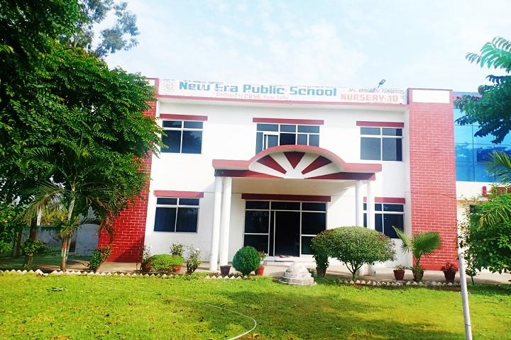 New Era Public School-Entrance