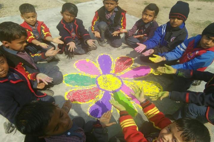 New Era Public School-Rangoli Competition