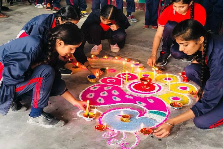 New Light School-Rangoli Competition