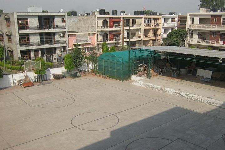 Sri Guru Harkrishan Model School-Ground