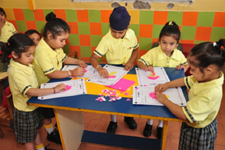 Sri Guru Harkrishan Model School-Kids Class