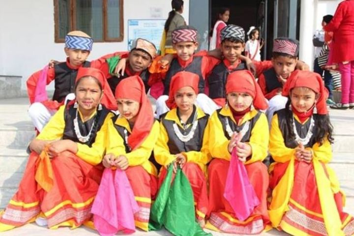 Paras International Public School-Dance