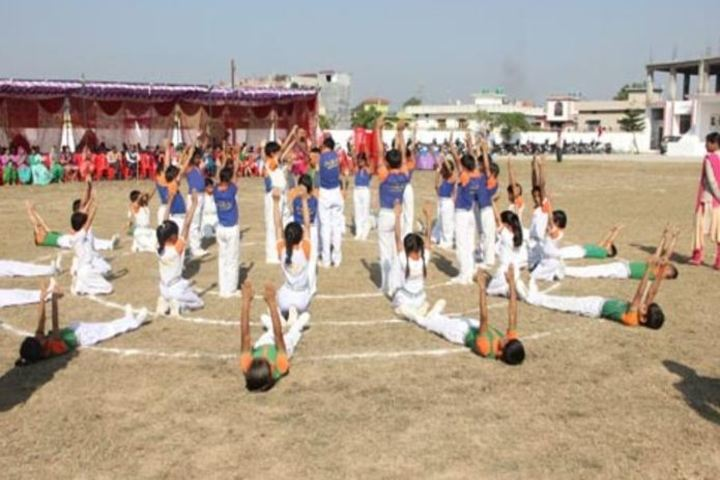 Paras International Public School-Yoga