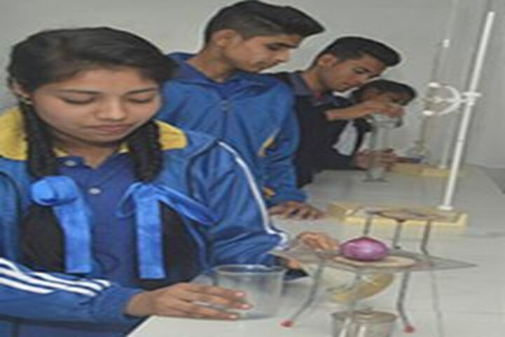 Persistent Students Nest Higher Secondary School-Chemistry Lab