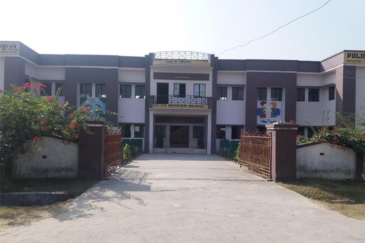 Police Modern School-Building