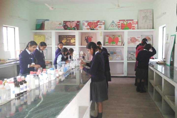 Police Modern School-Science Lab