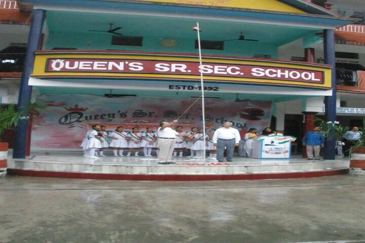 Queens Public School-Flag Hosting