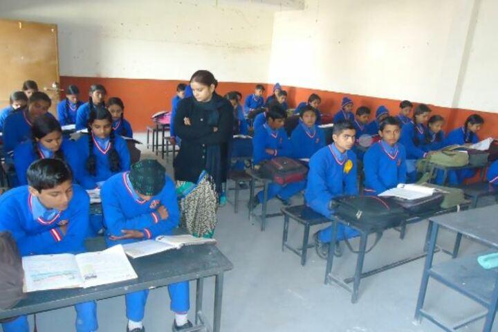 R L K Junior High School-Classroom