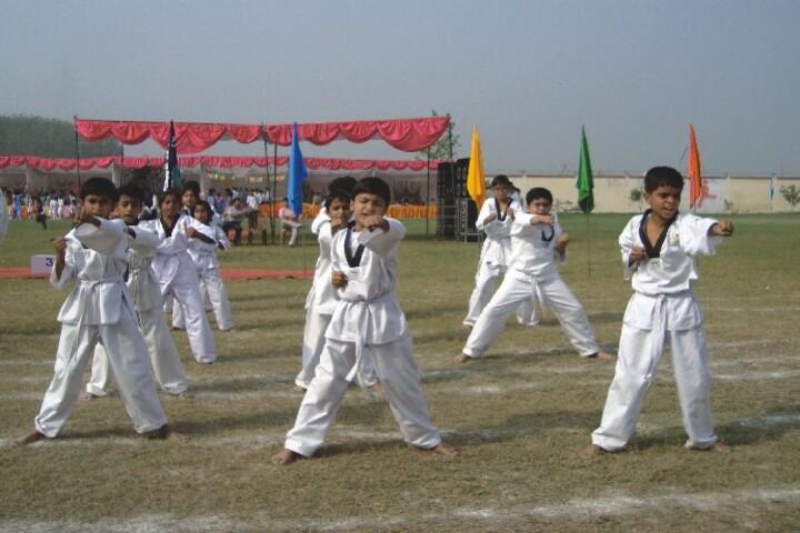 R A N Public School-Karate