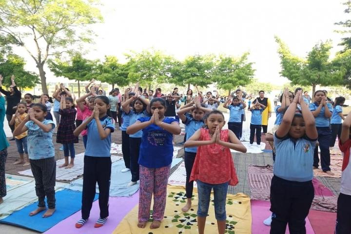 R A N Public School-Yoga