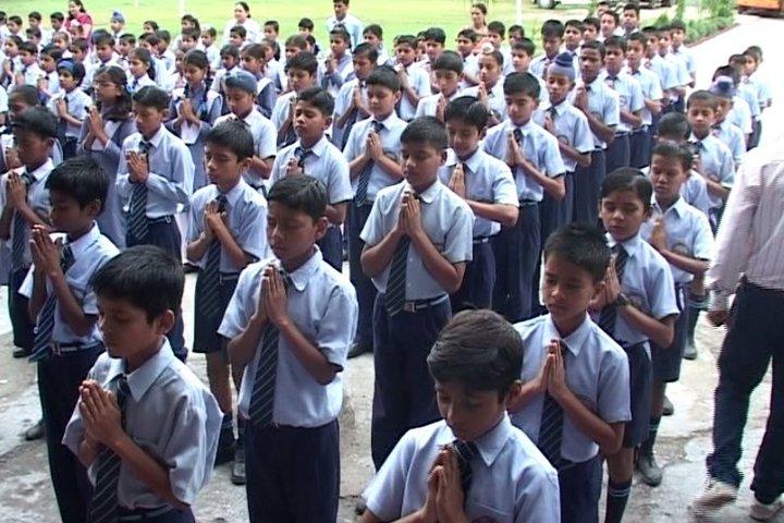 Radiant Public School-Prayer