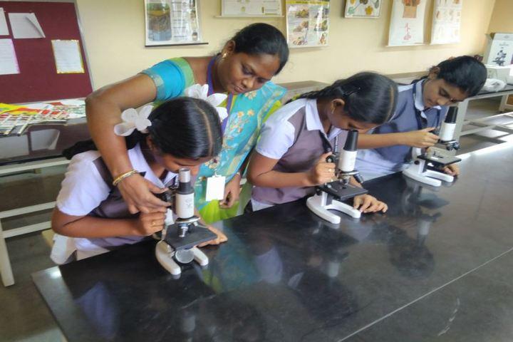 GVK Chinmaya Vidyalya-Biology Lab