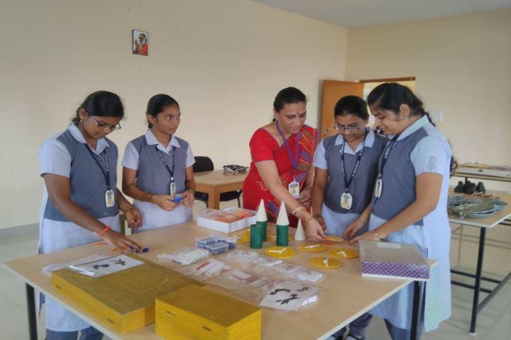 GVK Chinmaya Vidyalya-Maths Lab