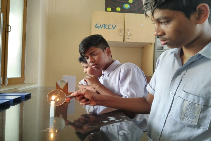 GVK Chinmaya Vidyalya-Physics Lab