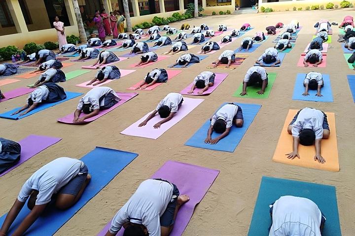 GVK Chinmaya Vidyalya-Yoga