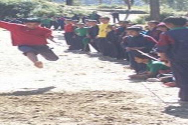 Rajeev Gandhi Novodaya Vidyalaya-Long Jump
