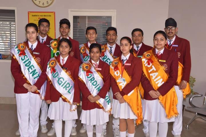 Roorkee Public Senior Secondary School-House Captains