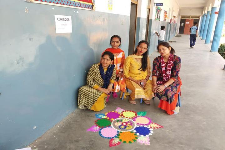 Rudra Public School-Rangoli