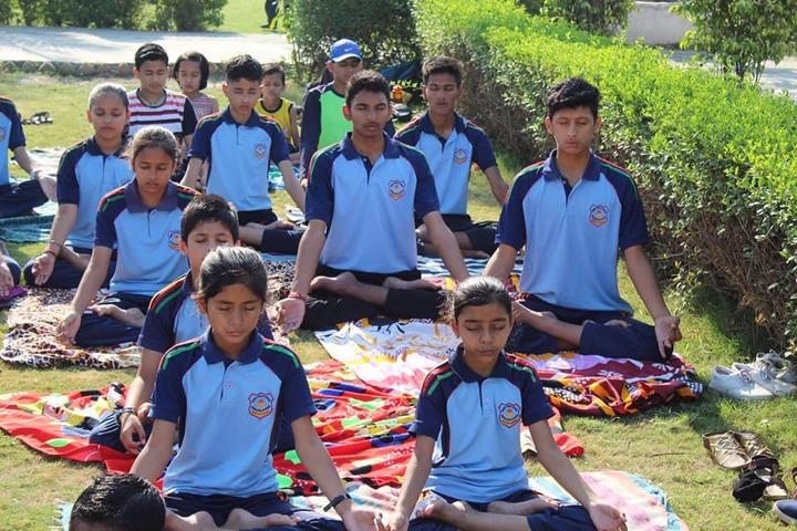 Rudra Public School-Yoga