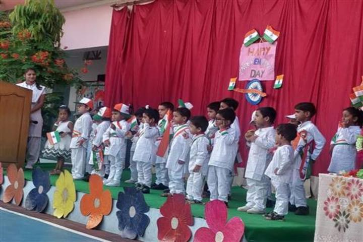 S K M Public School-Independence Day