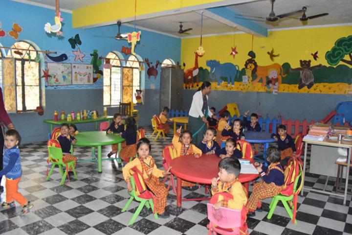 S K M Public School-Pre Primary Classroom