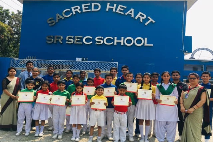 Sacred Heart School-Certificates
