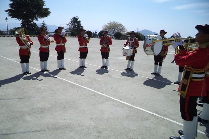Sainik School-Military band