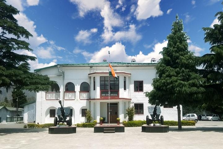 Sainik School-School building