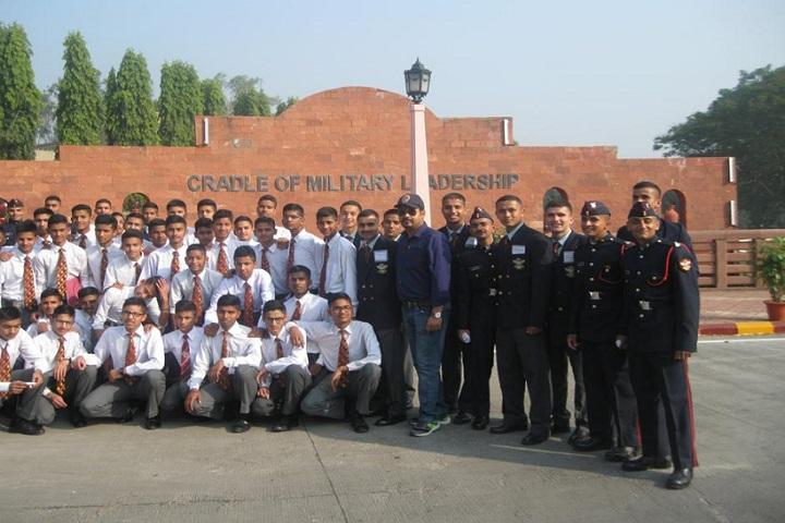 Sainik School-Student Group Photo