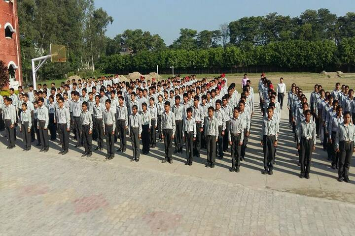 Samar Study Hall Senior Secondary School-Assembly