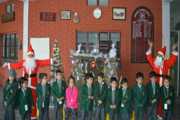 Samar Study Hall Senior Secondary School-Christmas Celebrations
