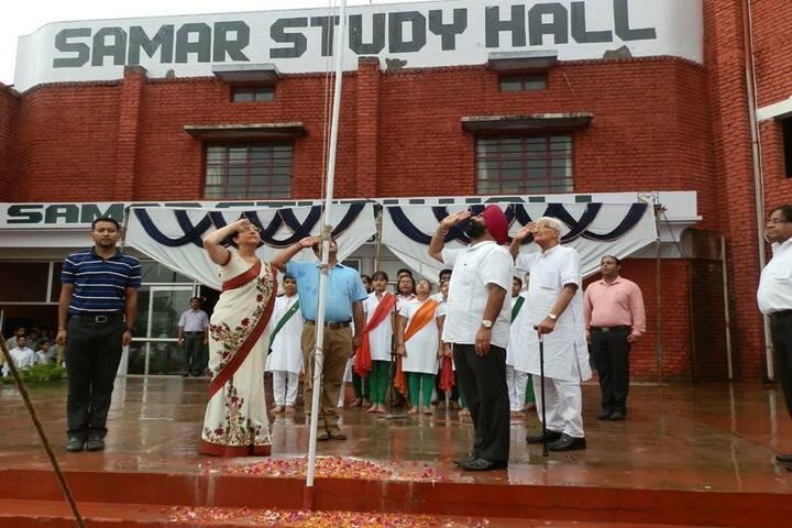 Samar Study Hall Senior Secondary School-Flag Hosting
