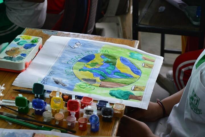 Samar Study Hall Senior Secondary School-Paintings