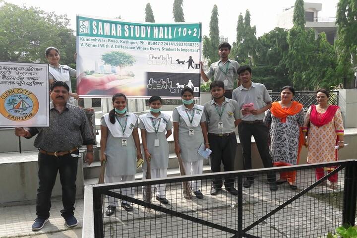 Samar Study Hall Senior Secondary School-Swatch Bharat