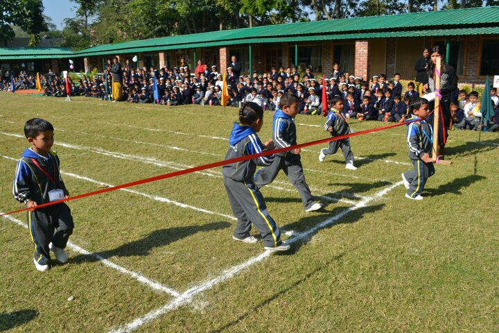 Sant Kabeer Academy-Running Race