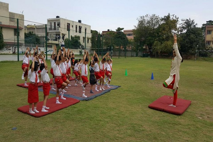 Stepping Stones Senior Secondary School-Yoga