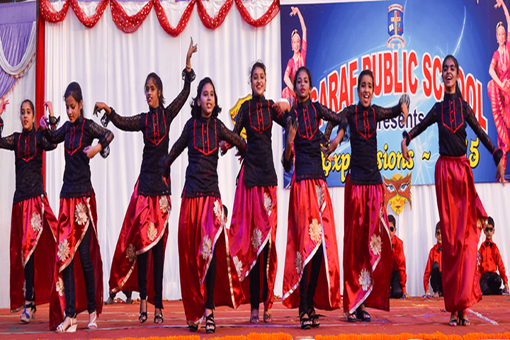 Saraf Public School-Dancing Activity