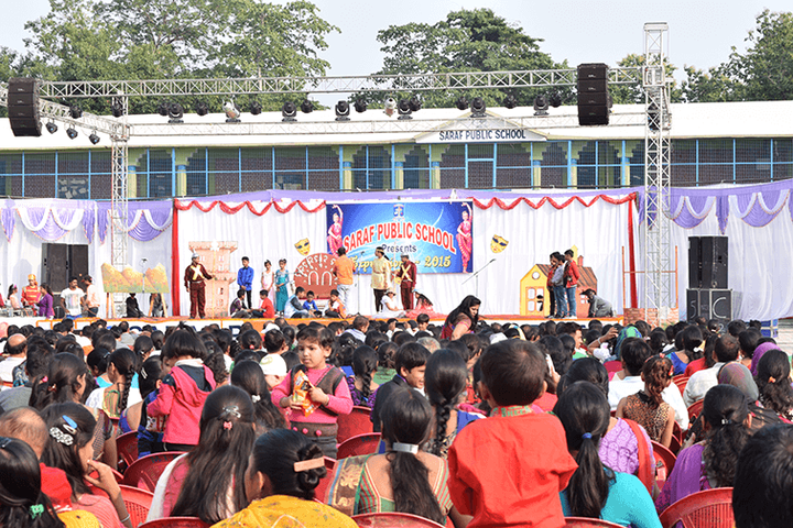 Saraf Public School-Teachers Day